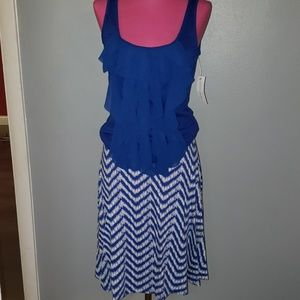 Ruffled Tank Top.